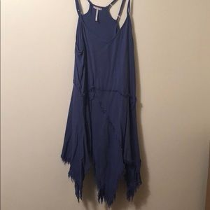 Long free people tank